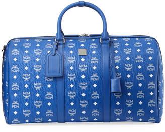 MCM Men's Large Visetos Weekender Duffel Bag
