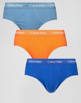 Calvin Klein Briefs 3 Pack Cotton Stretch