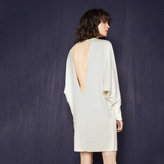 Maje Backless knit dress