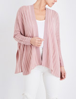 Madeleine Thompson Wrap knitted cashmere cardigan