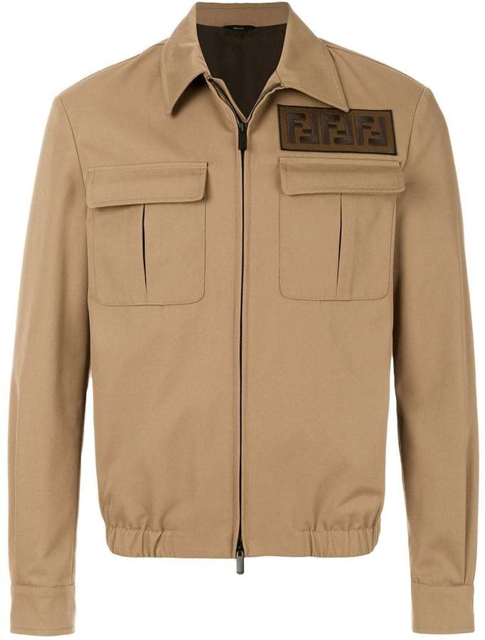 Fendi FF patch jacket