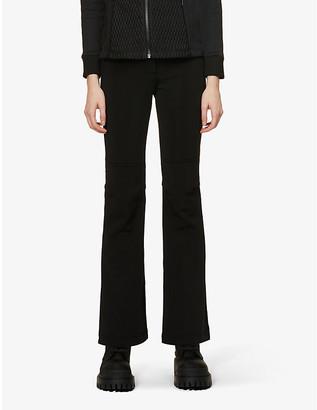 Fusalp Elancia II flared-leg stretch-woven trousers