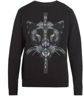 Marcelo Burlon County of Milan Yune cotton-jersey sweatshirt