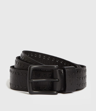 AllSaints Parson Stud Leather Belt