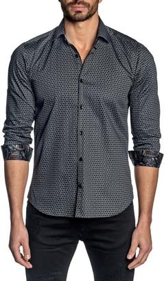 Jared Lang Trim Fit Button-Up Shirt