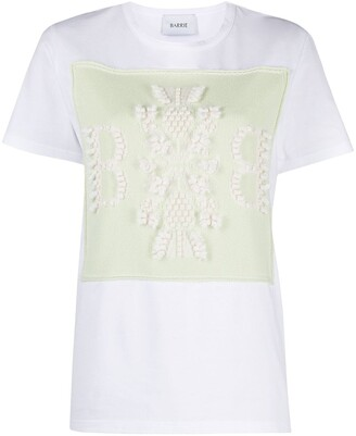 Barrie embroidered T-shirt