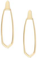 Kendra Scott Patterson Long Door Knocker Earrings