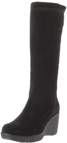 La Canadienne Women's Veronique Black Suede