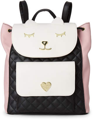 Betsey Johnson Luv Betsey By Millie Drawstring Backpack