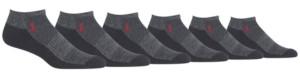 Polo Ralph Lauren Men's 6-Pk. Athletic Low Cut Socks
