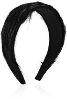 Eugenia Kim Jean feather-embellished hairband