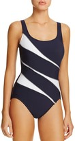 Miraclesuit Sports Page Helix One Piece Swimsuit