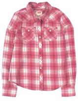 Levi's Girls' Long-Sleeve Plaid Shirt