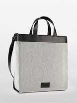 Calvin Klein Platinum Engineered Casual Colorblock Medium Tote