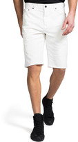 PRPS Men's Twill Shorts with Abrasions