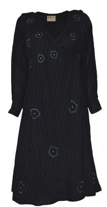 The Loom Art Midnight Teal Wrap Dress