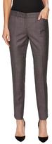 Lafayette 148 New York Downtown Wool Jacquard Skinny Pant