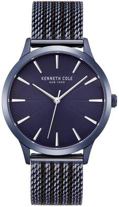 Kenneth Cole New York Classic Stainless Steel Mesh Bracelet Watch