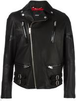 Diesel star patch biker jacket