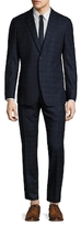 Paul Smith Wool Windowpane Tailored Fit Suit