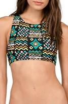 Volcom Women's Instincts Crop Bikini Top