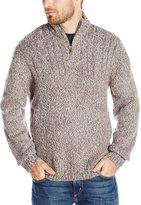 Axist Men's Quarter Zip Long Sleeve Sweater