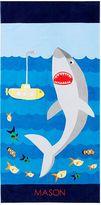 Pottery Barn Kids Shark Kid Beach Towel