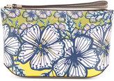 Furla floral print makeup bag