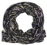 Michael Kors Elderflower-Print Wool And Silk Scarf