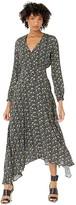 Paul Smith Ditsy Floral Print Dress (Black) Women's Clothing