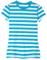 Icebreaker Women's Sprite Short Sleeve Crewe Shirt Stripe
