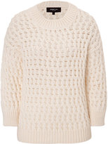 Derek Lam Long Sleeve Crew Neck Sweater