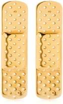 Schield Plaster Line Earrings