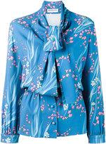 Balenciaga floral print blouse - women - Viscose - 34