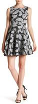 Eva Franco Futura Lace Square Neck Dress