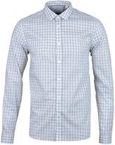 Lyle & Scott Light Grey Gingham Poplin Shirt