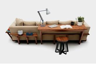 """Artless LRG Writing Desk Size: 30"""" H x 55"""" W x 20"""" D"""