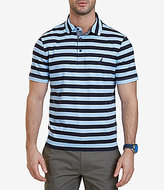 Nautica Softex Stripe Short-Sleeve Polo Shirt