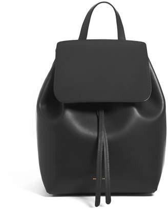 Mansur Gavriel Mini Coated Leather Backpack