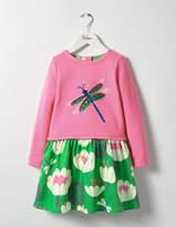 Boden Sequin Appliqué Dress