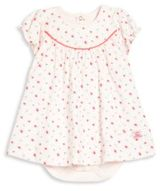 Petit Bateau Baby's Floral Bodysuit Dress