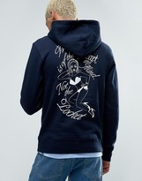 Billionaire Boys Club Hoodie With Heart Logo and Back Print