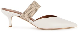 Malone Souliers Maisie 45 ivory leather mules