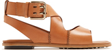Tod's Crossover-strap leather sandals