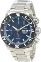 Edox Men's 01115 3 BUIN Class 1 Automatic Stainless Steel Chrono Rotating Bezel Watch