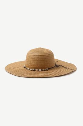 Ardene Shell Straw Hat
