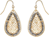 Monsoon Filigree Sparkle Drop Earrings