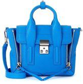 3.1 Phillip Lim Pashli Blue Cyan Leather Mini Satchel