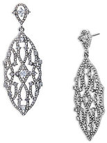 Lauren Ralph Lauren Pave Estate Chandelier Statement Earrings