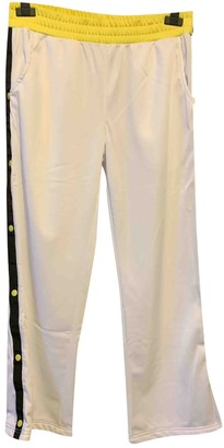 KENDALL + KYLIE White Trousers for Women